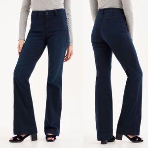 NYDJ   Teresa Modern Trousers Dark Wash   4